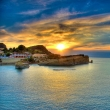 Sunset-over-Corfu-island-Greece