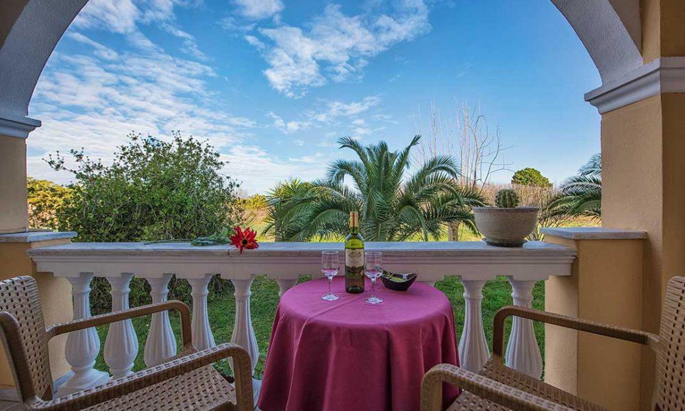 Garden View Balcony - Erofili Hotel Kavos Corfu
